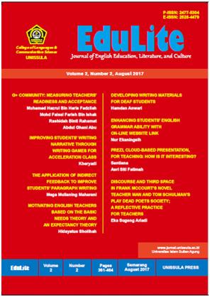 cover Edulite journal